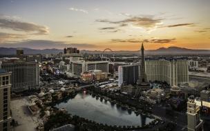 Amanecer en Las Vegas