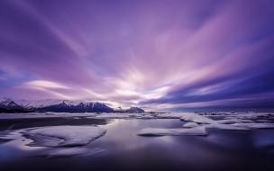 Amanecer purpura
