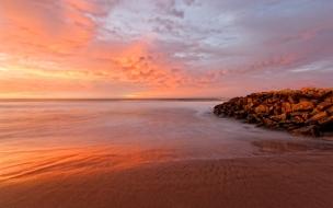Bellos amaneces en playas