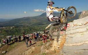 Saltos en motos