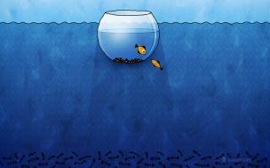 Un acuario en digital