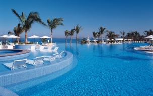 Vacaciones en un hospedaje frente al mar