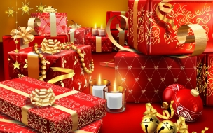 Como decorar cajas para regalos en navidad