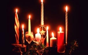 Como decorar las velas para navidad