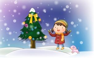 Wallpapers para niños en Navidad