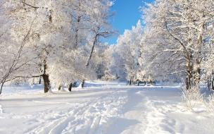 Nieve en las ciudades por navidad