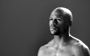 Floyd Mayweather rostro