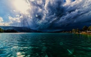 Una increíble vista del mar