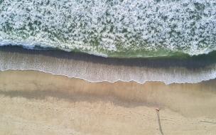 Vista de Playas de drones