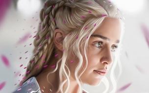 El rostro de Daenerys Targaryan