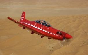 Avion acrobático volando