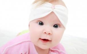 Una hermosa bebe