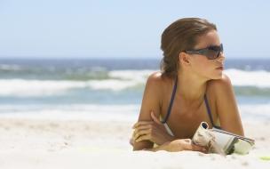 Chicas en las playas
