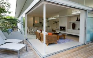 Diseño de una sala exterior