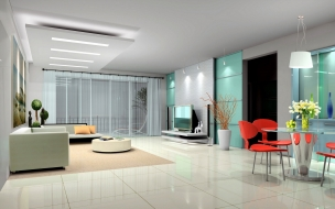 Diseños 3D de salas