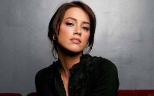 La hermosa Amber Heard