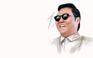 El cantante de Psy