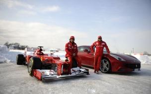 Formula 1 en la nieve