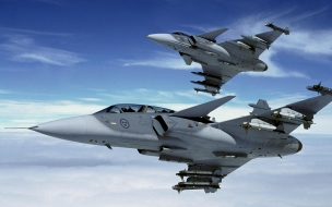 Aviones Jas 39 Gripen