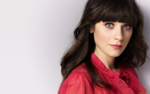 Zooey Deschanel, rostro