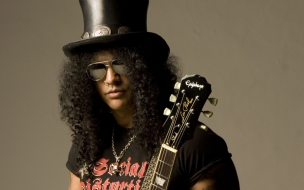 Slash de Guns and Roses