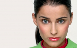 El rostro de Nelly Furtado