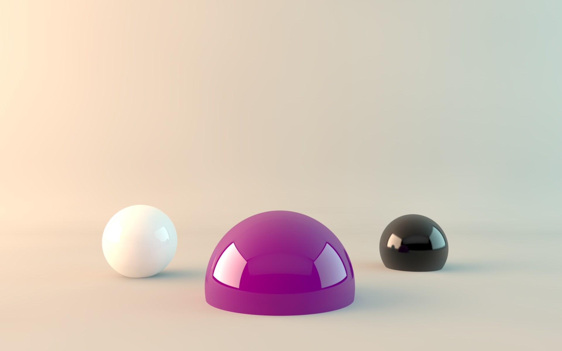 Abstracto objetos - 1920x1200