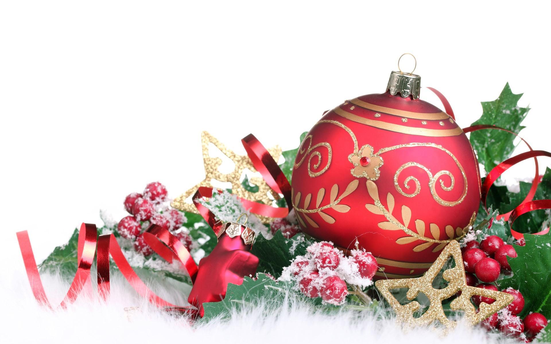 Adornos para árbol de Navidad - 1920x1200