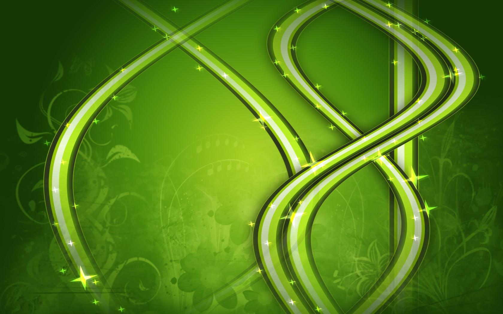 Adornos verdes - 1680x1050