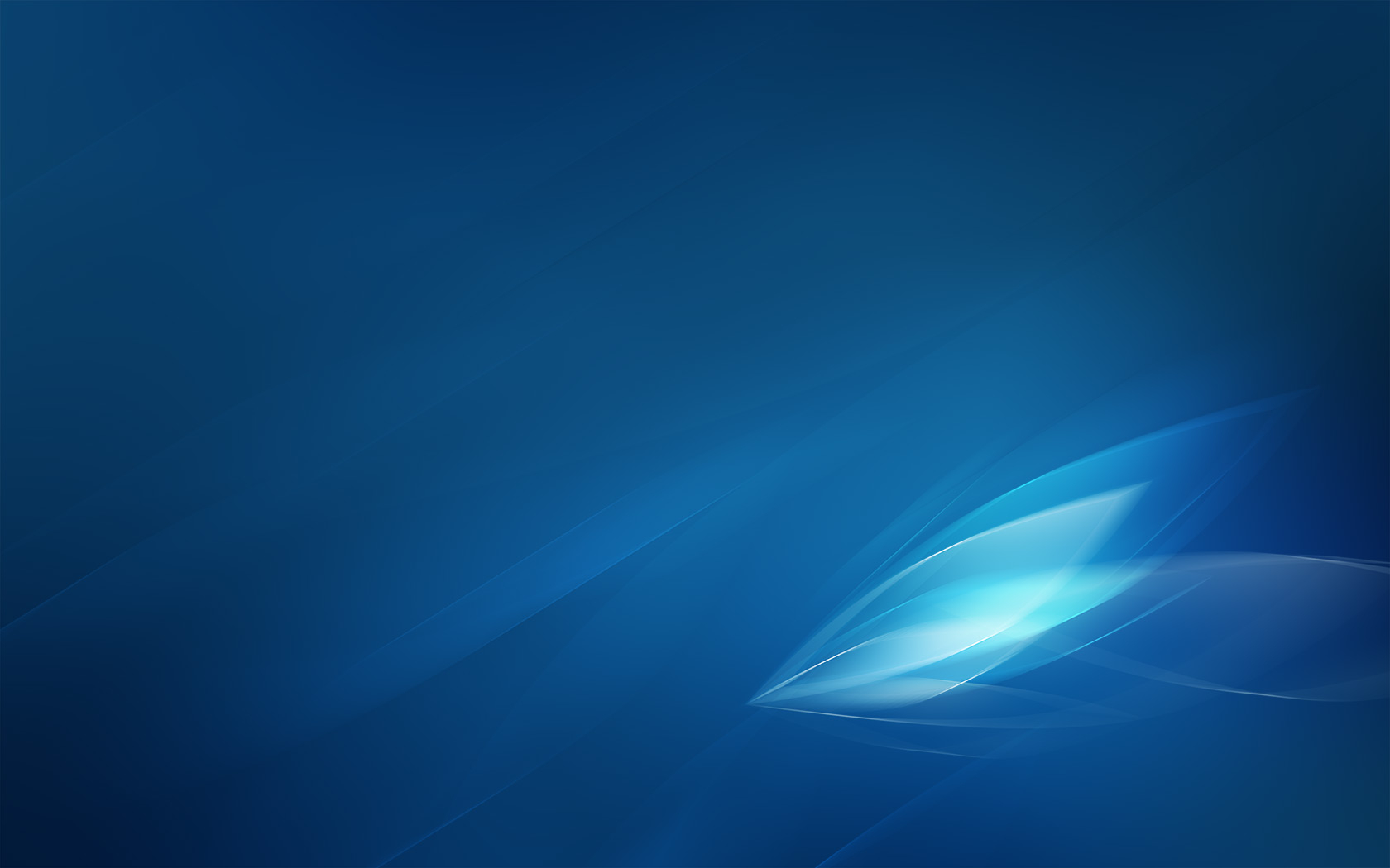 Aero Blue Abstract - 1680x1050