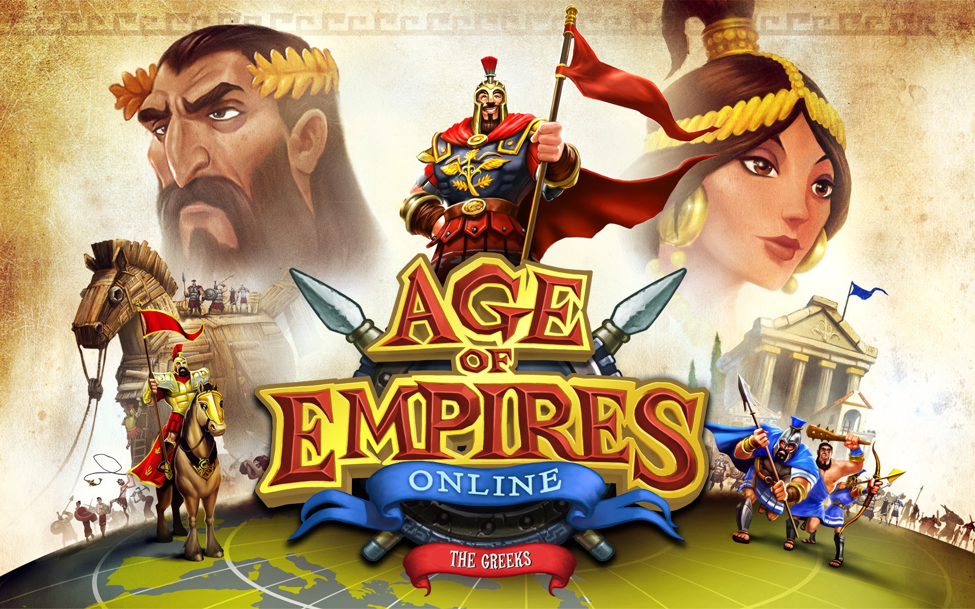 Age Of Empires online - 1920x1200