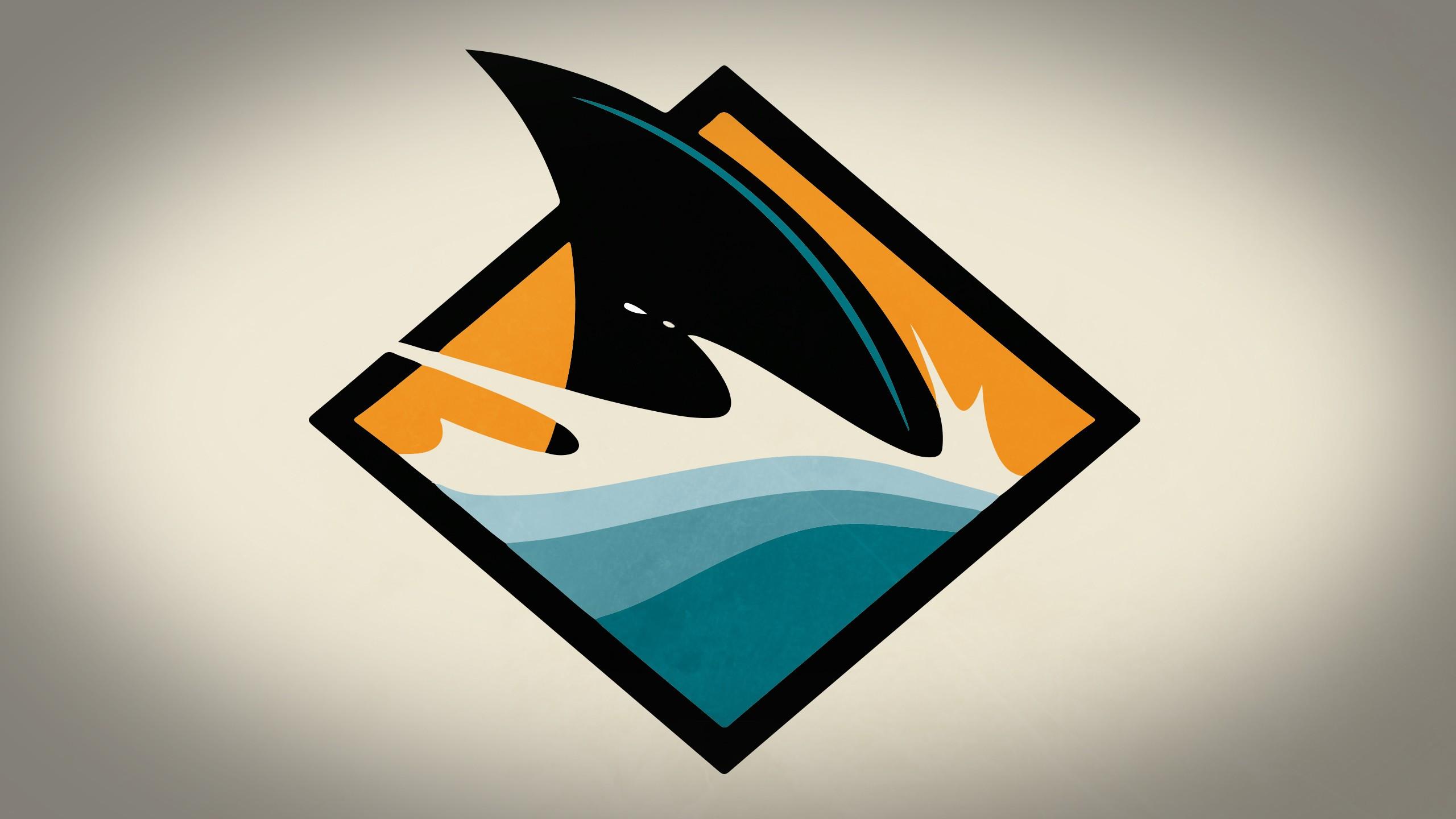 Aleta de tiburón digital - 2560x1440
