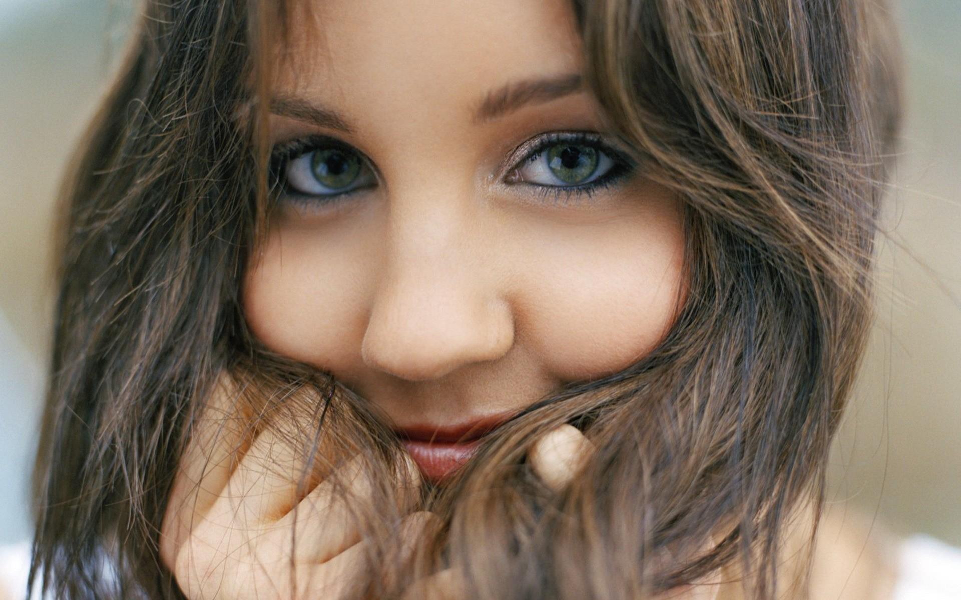 Amanda Bynes rostro hermoso - 1920x1200