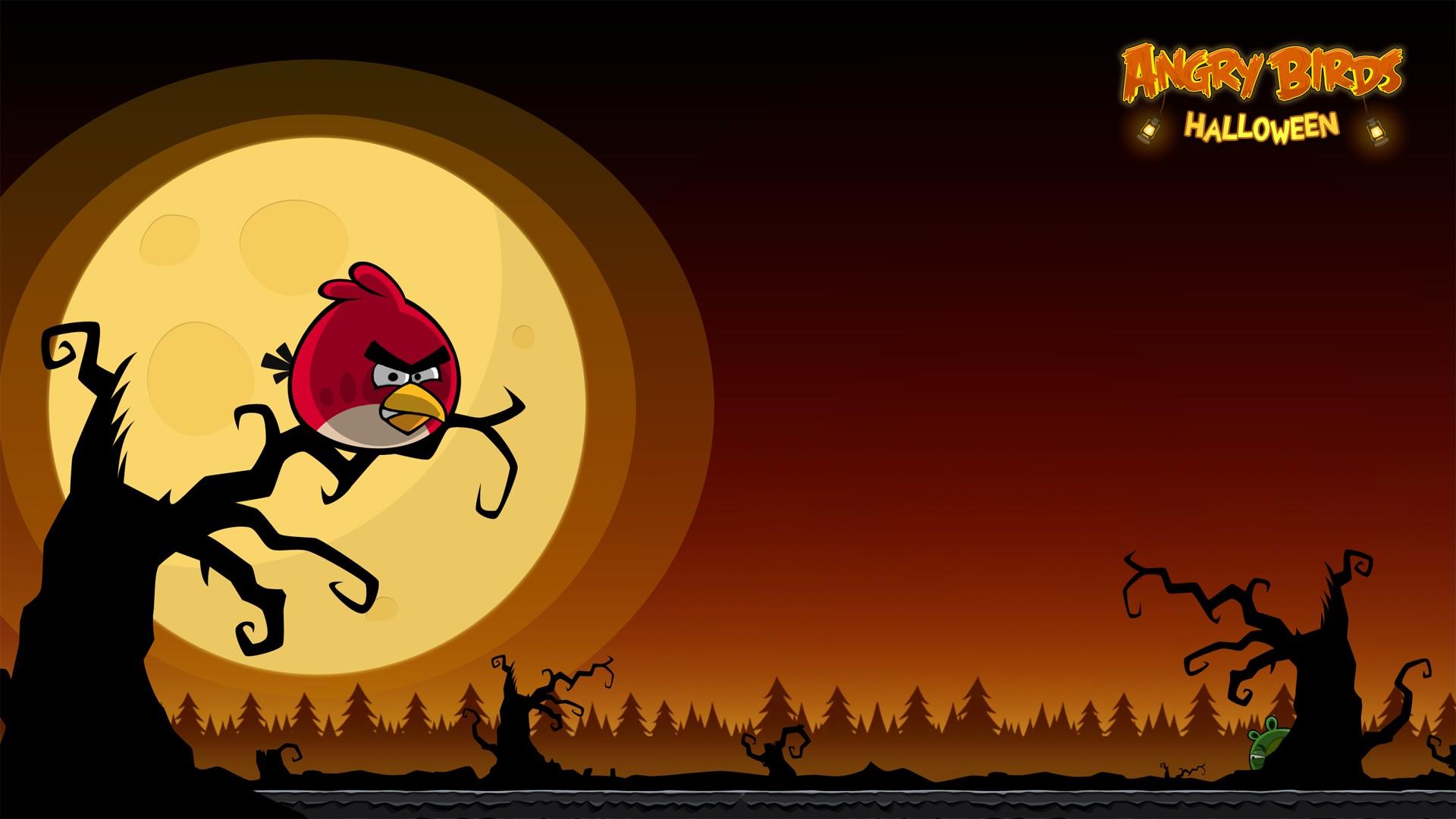 Angry Birds Halloween - 1920x1080