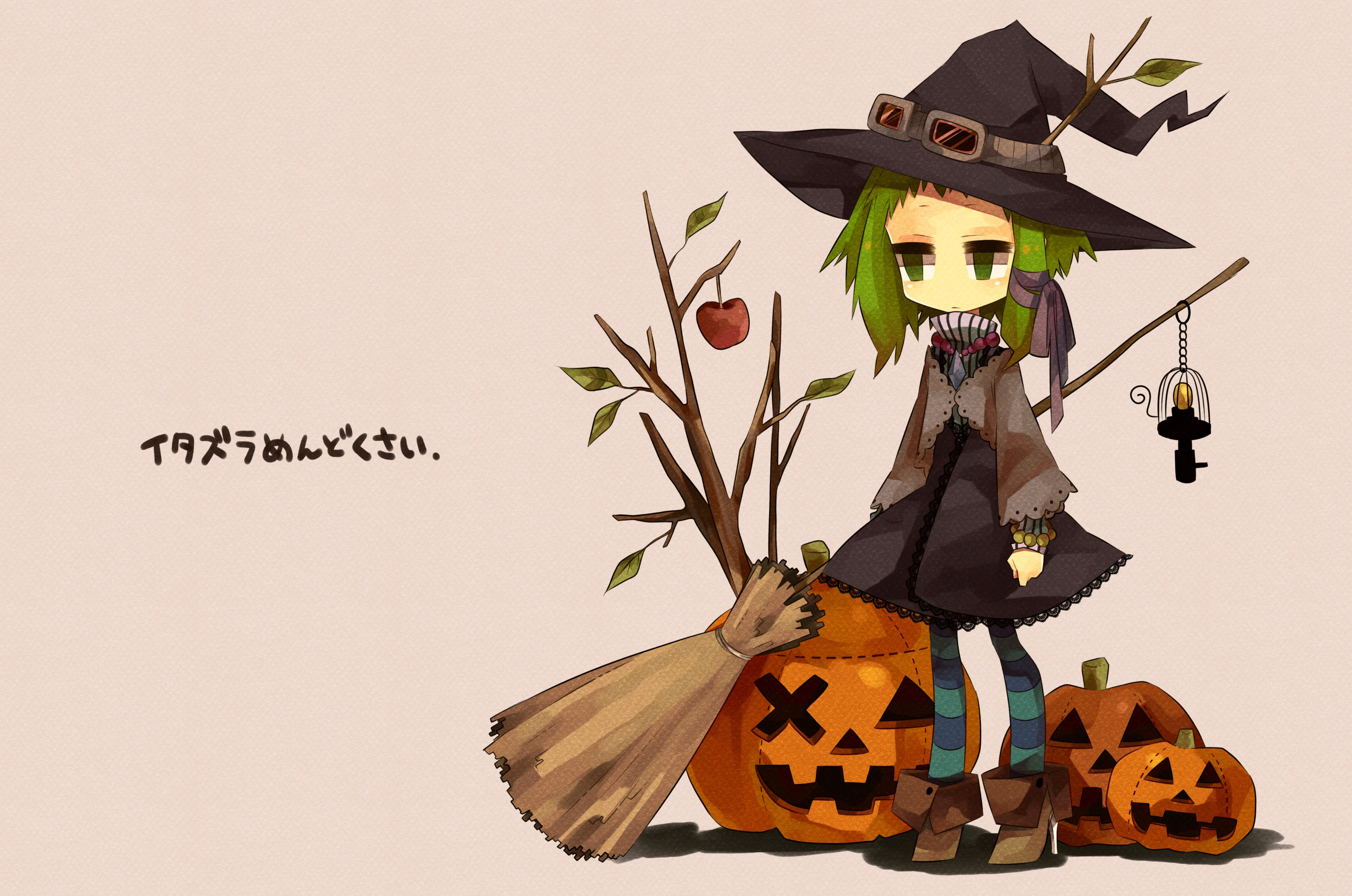 Anime Halloween hd 3421x2267 - imagenes - wallpapers gratis ...