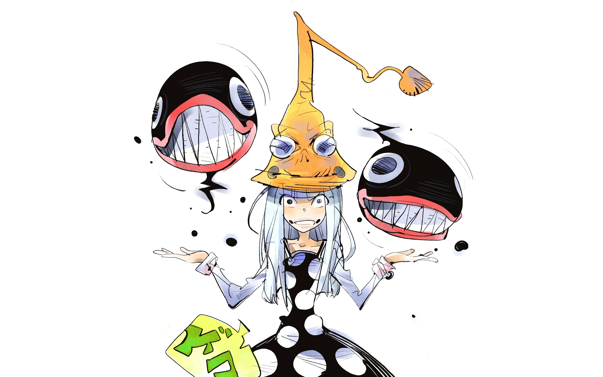 Anime por halloween - 1920x1200
