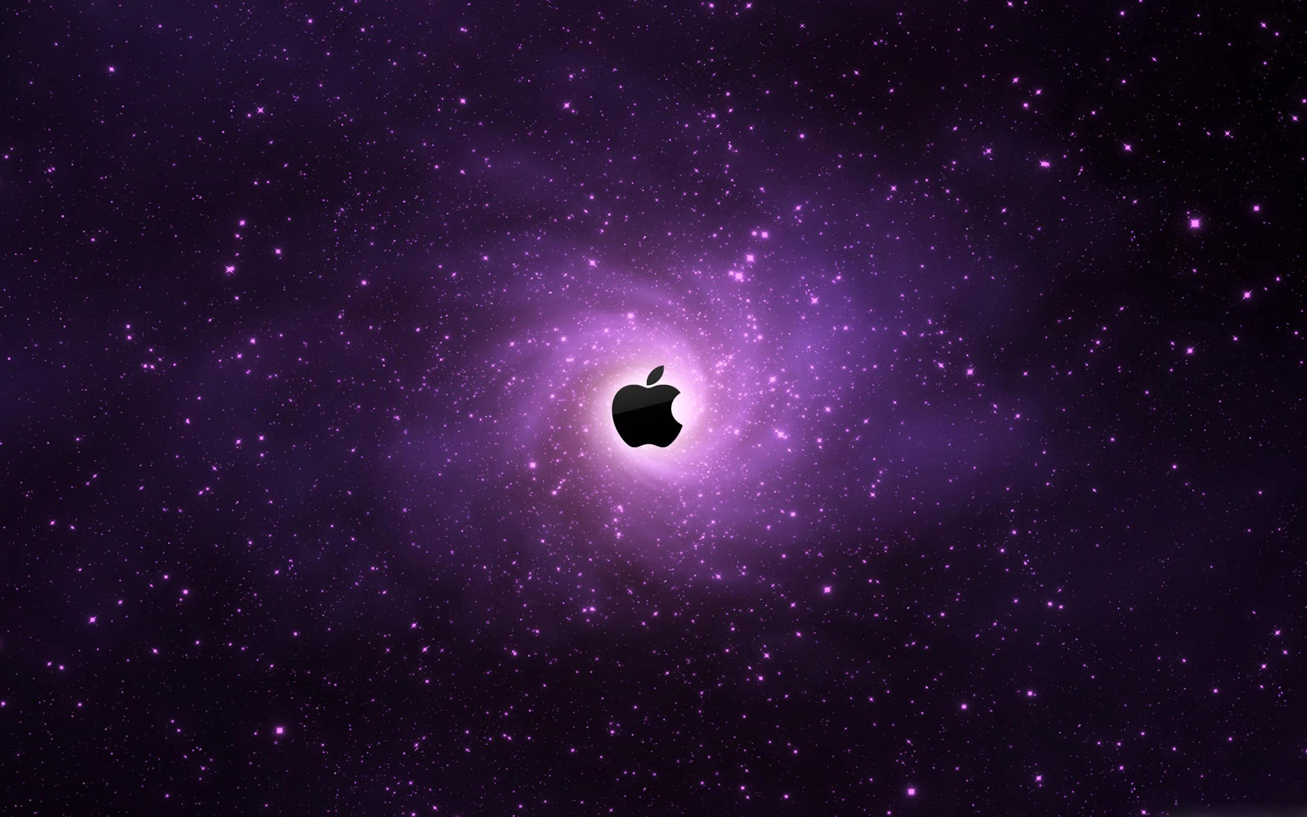Apple en el espacio - 2560x1600