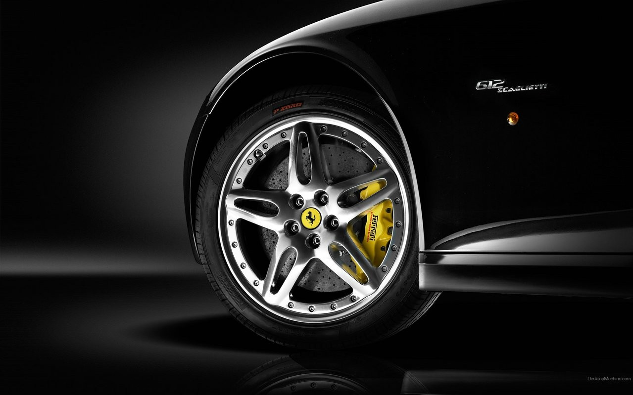 Aros y llante de auto Ferrari - 1279x799