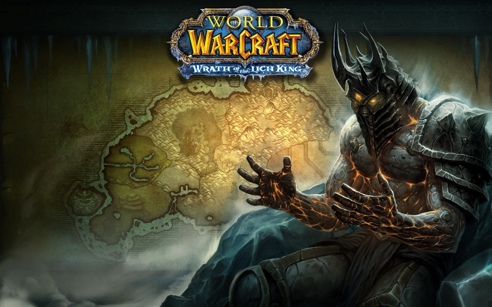 Arthas de World of Warcraft - 1680x1050