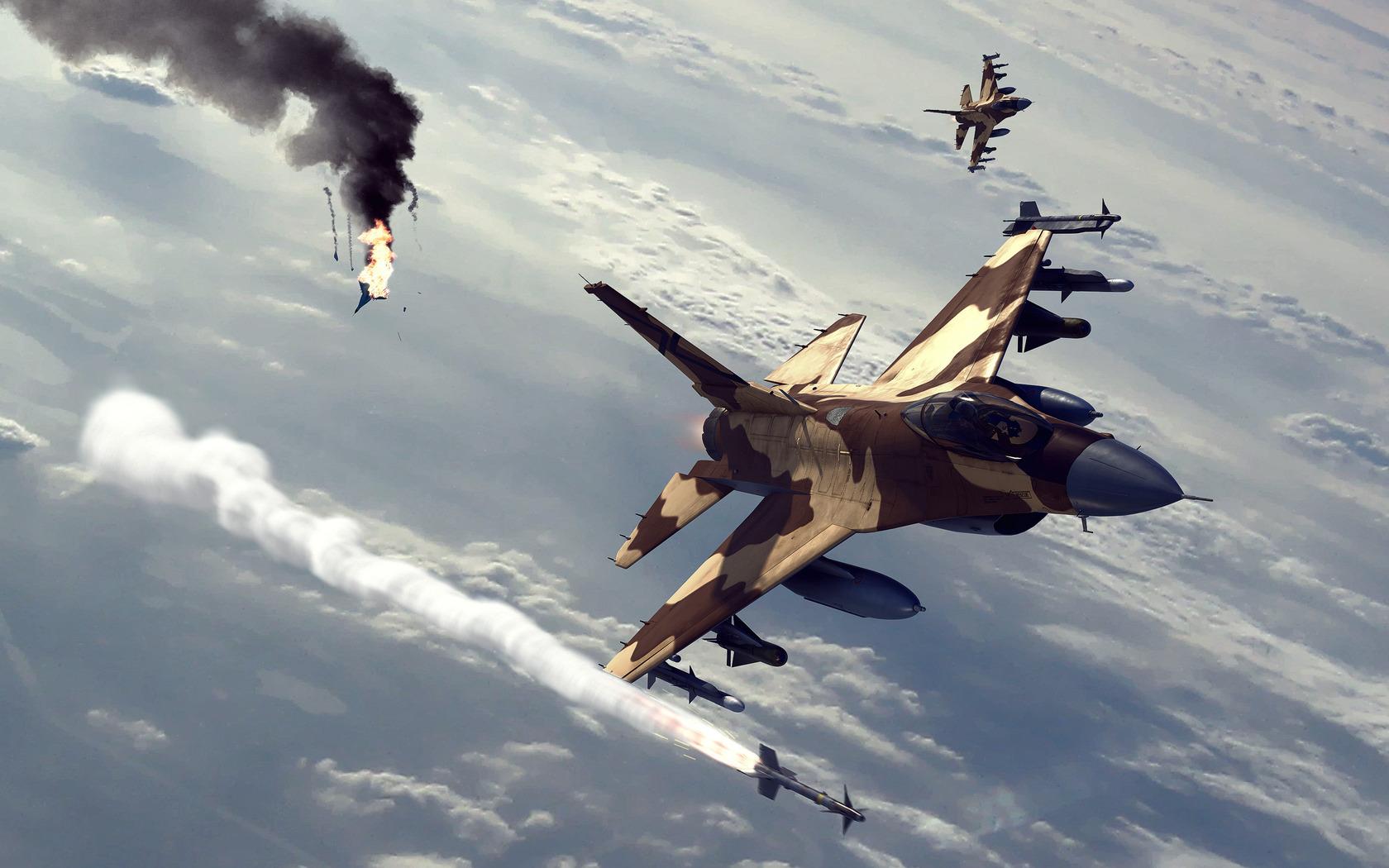 Ataques de aviones - 1680x1050