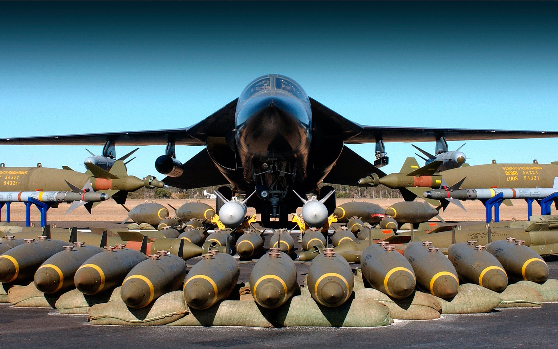 Avión bombardero - 1920x1200