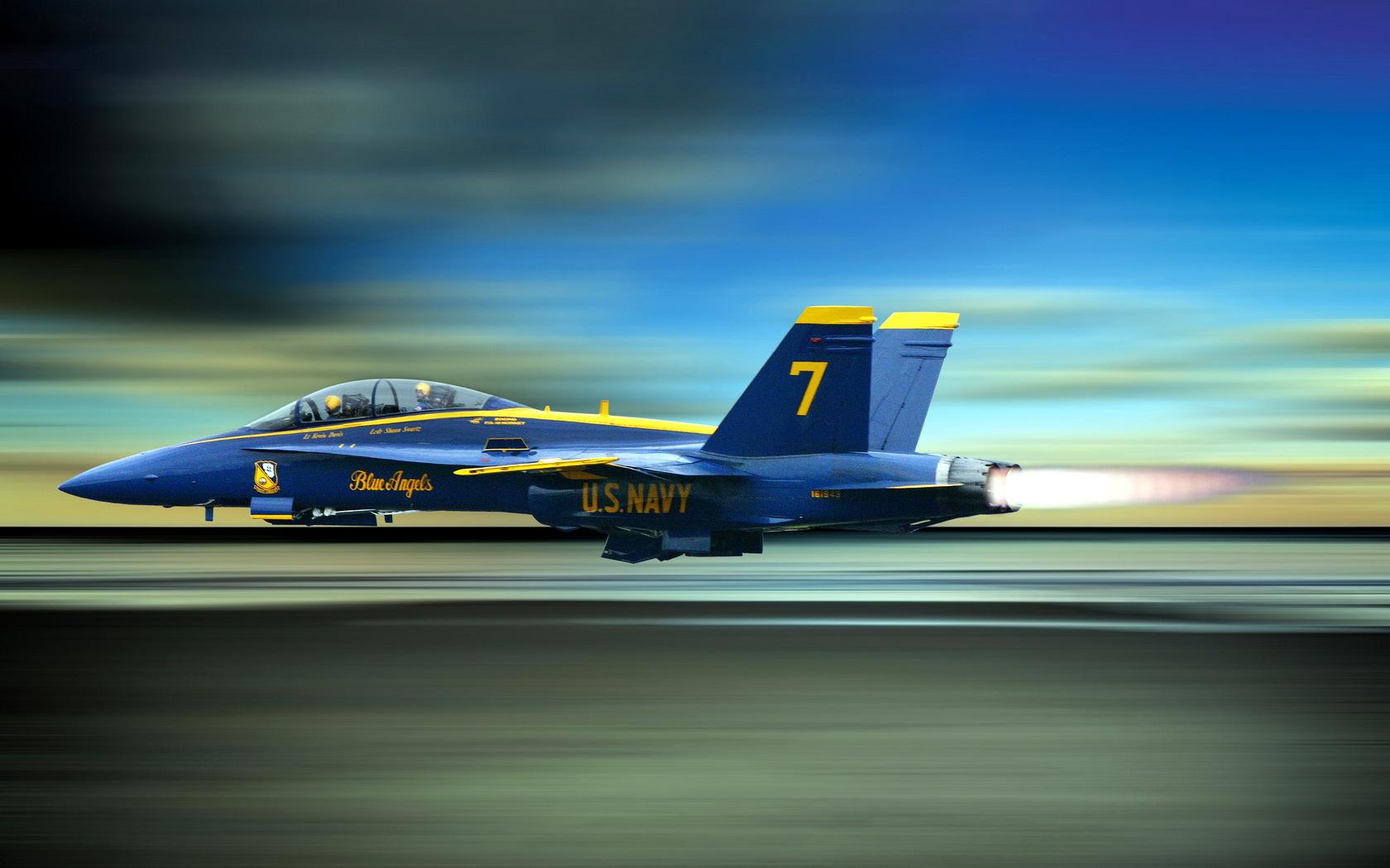 Avión de los Navys - 1680x1050