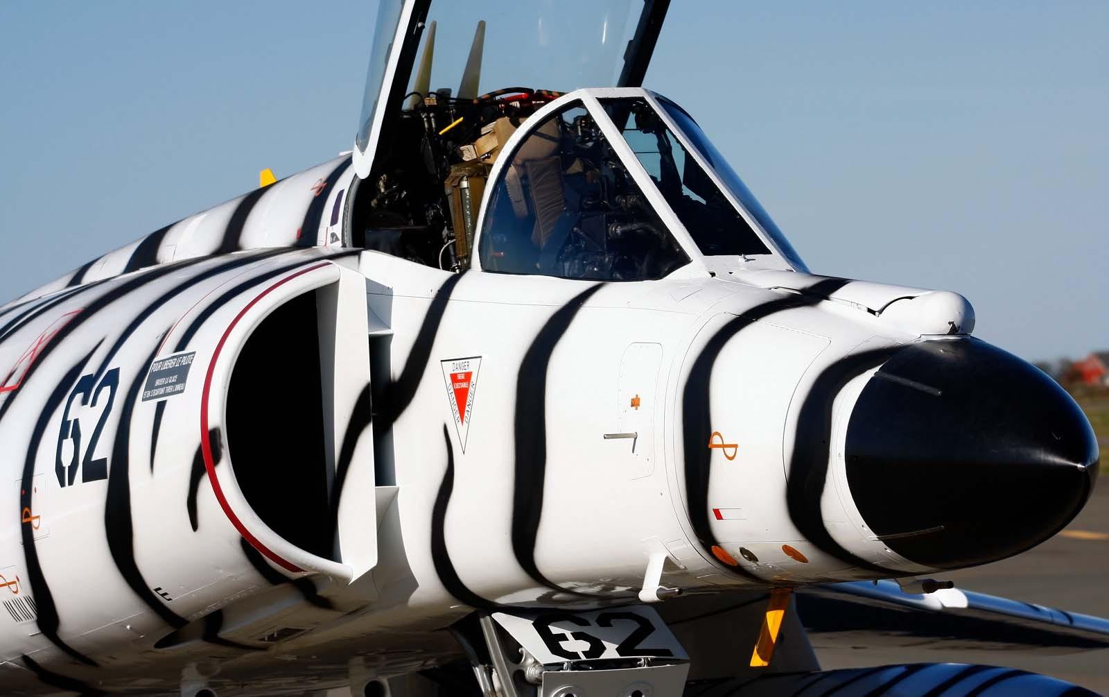 Avión pintado como cebra - 1600x1005