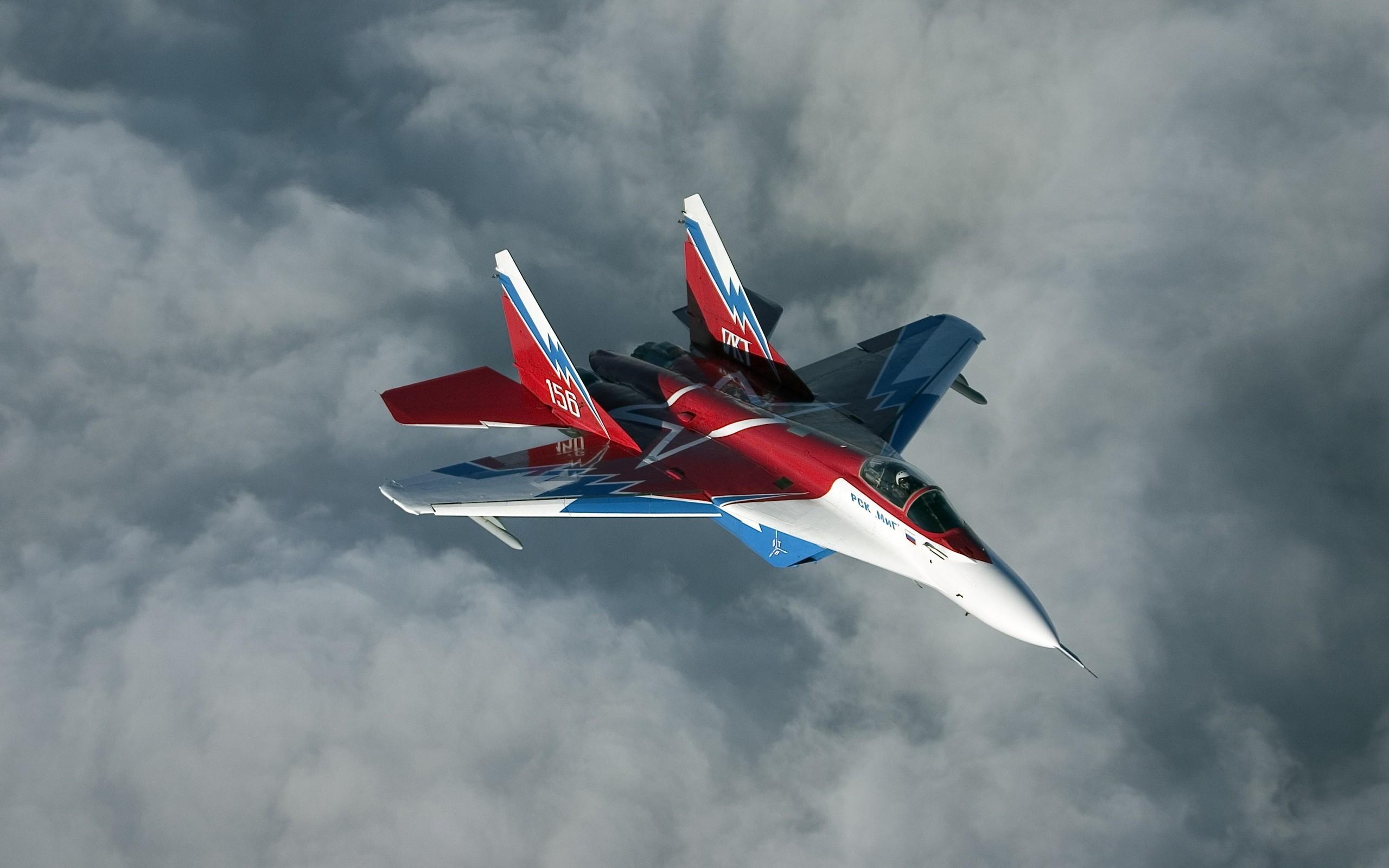 Avión Ruso MIG-29 - 2560x1600