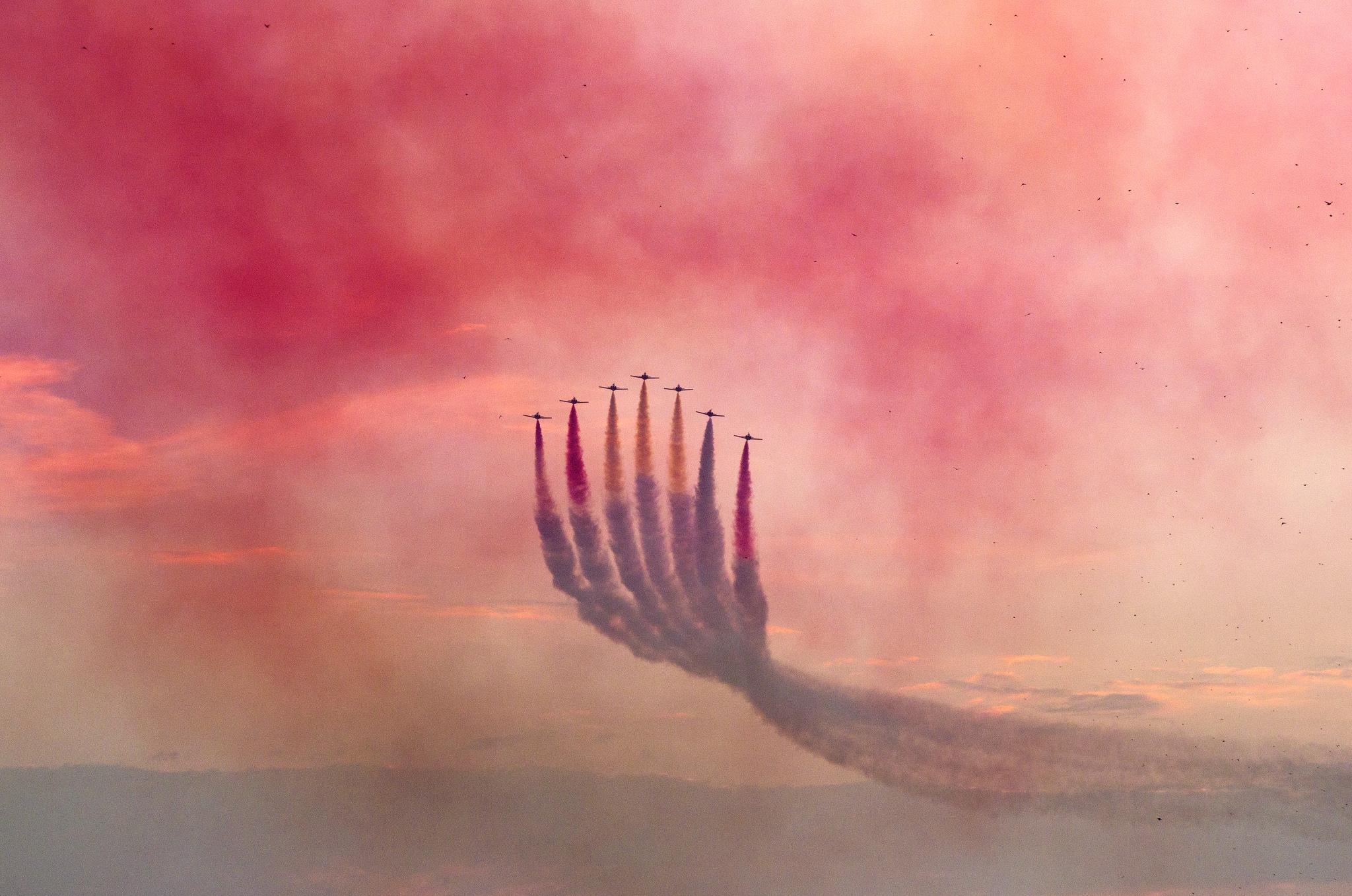 Avionetas de exhibición - 2048x1357