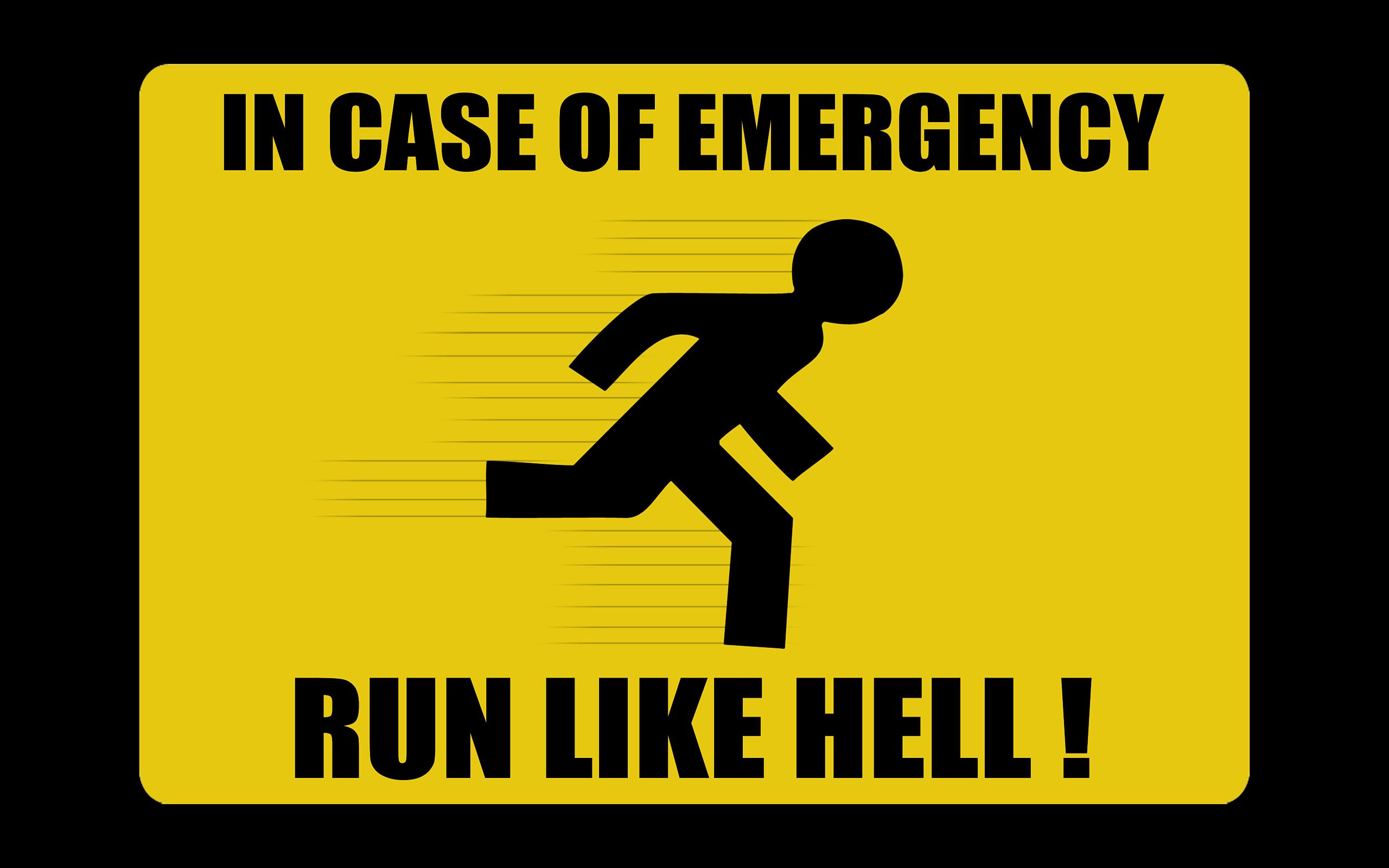Aviso de emergencia - 2560x1600