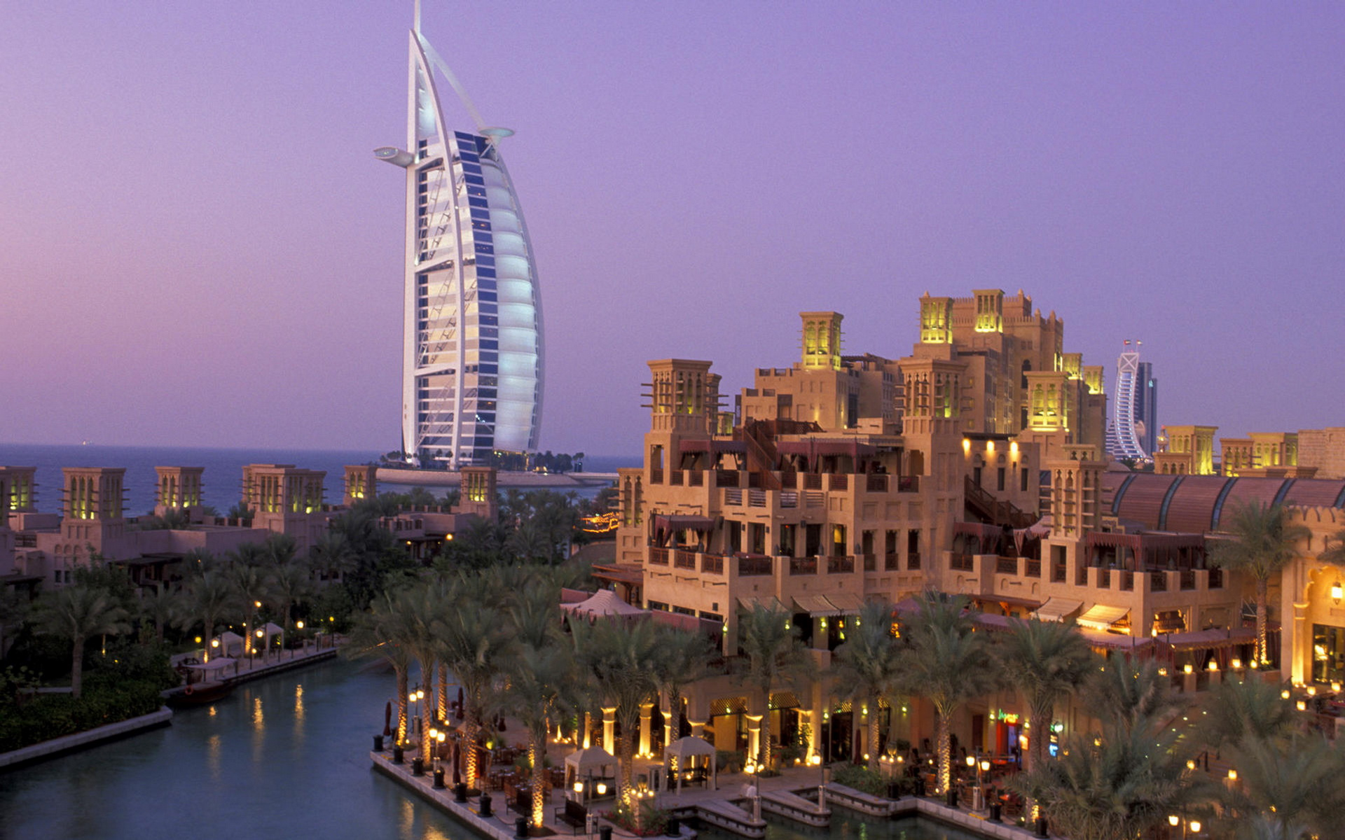 Burj Al Arab en Dubai - 1920x1200
