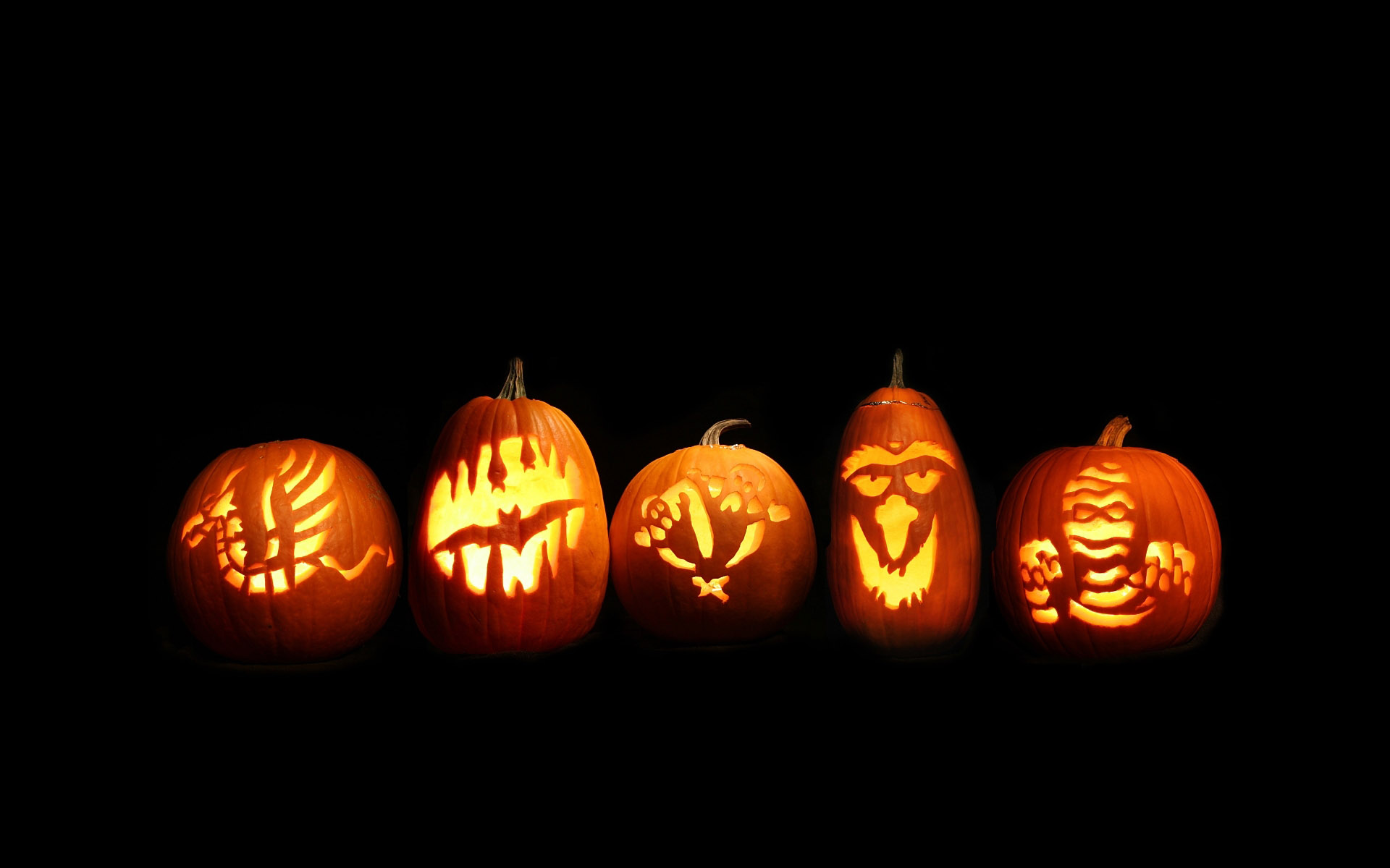 Calabazas de Halloween - 1920x1200