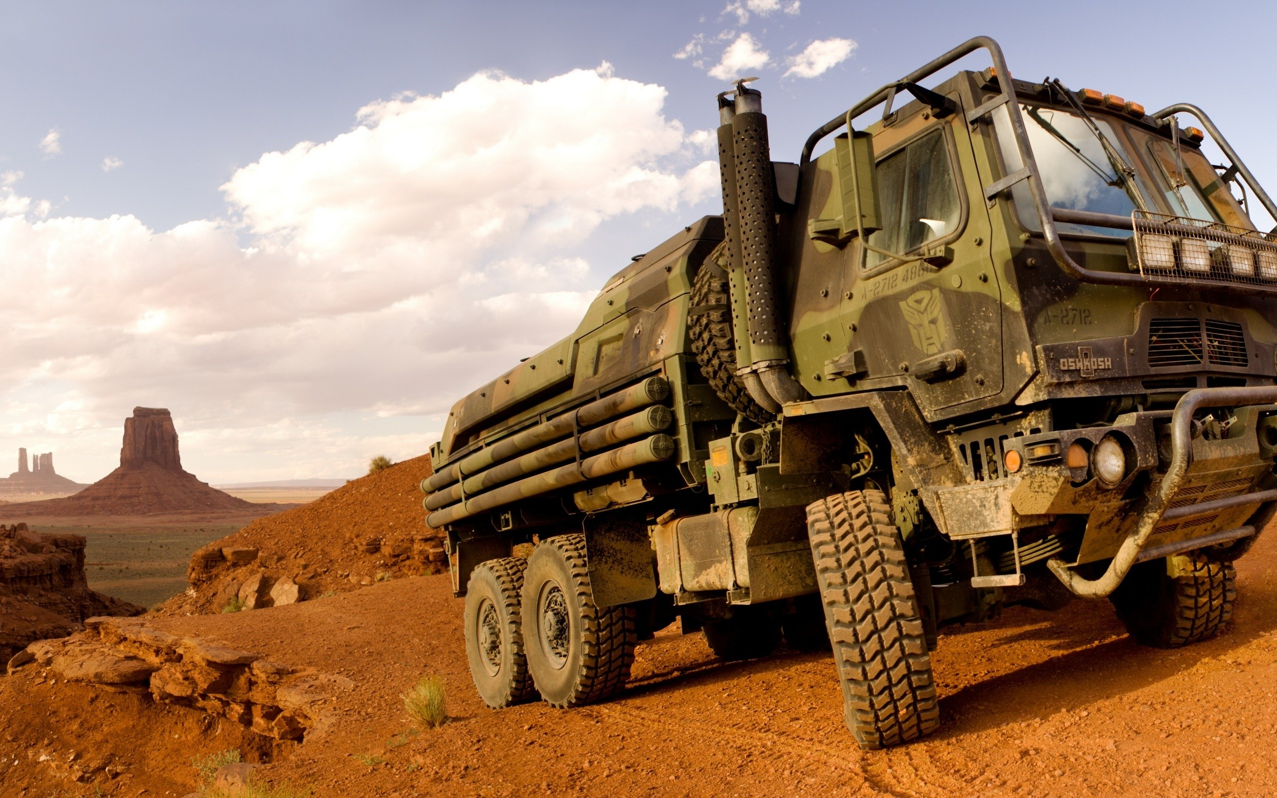 Camiones militares - 2560x1600