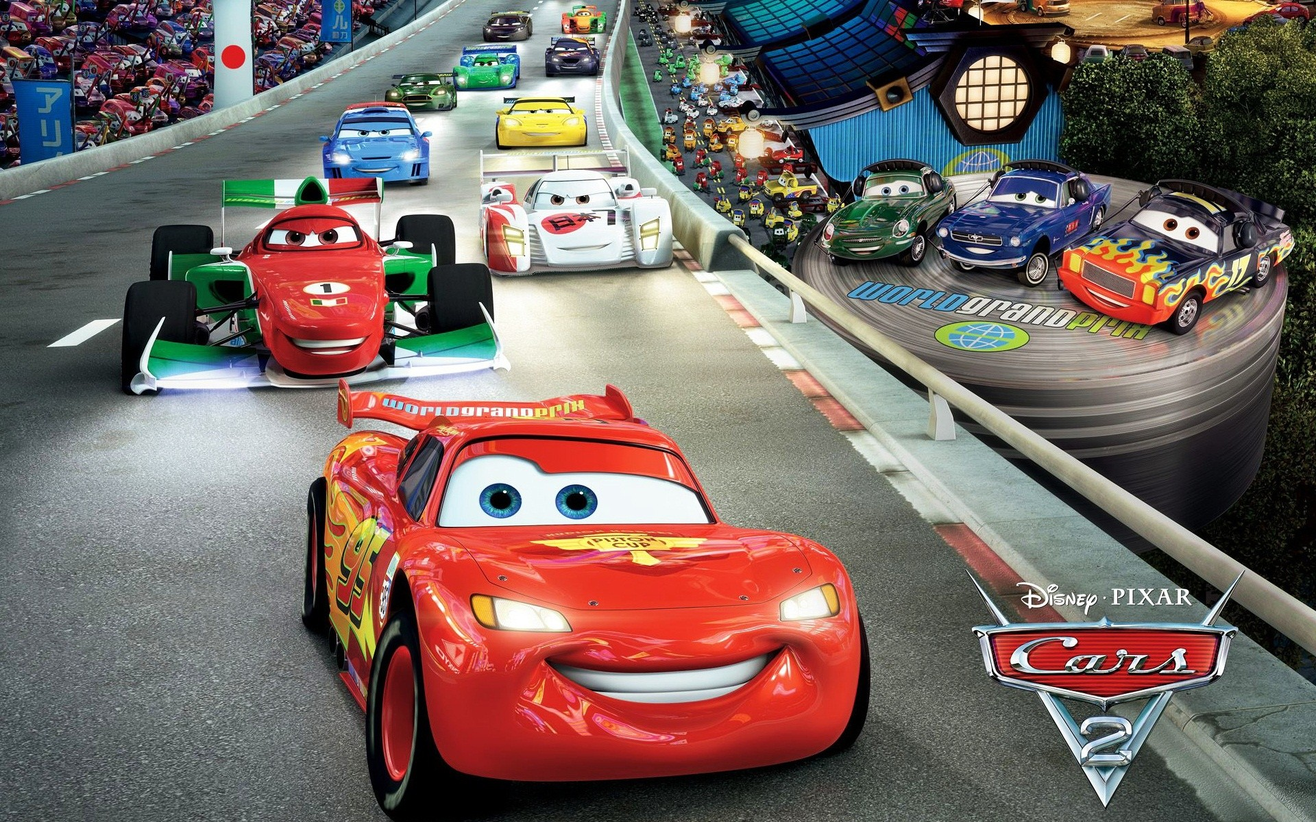 Cars 2: The Video Game - Screenshots - 127 of 49 - GamersHell.com